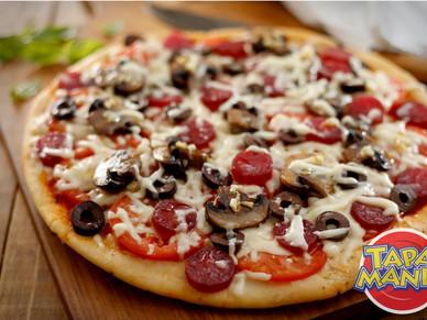 Pizza! Una rica idea que desde la cocina de #Tapamania compartimos