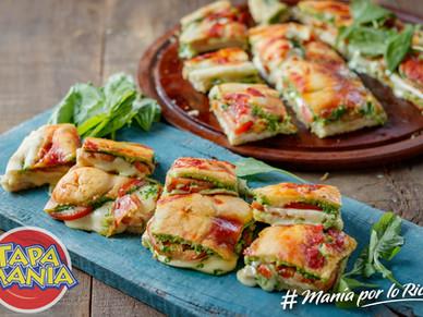 Sandwich de pizza Tapamanía Una forma diferente de comer pizza rellena