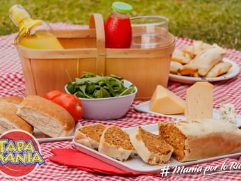 Pastel de carne para picnic