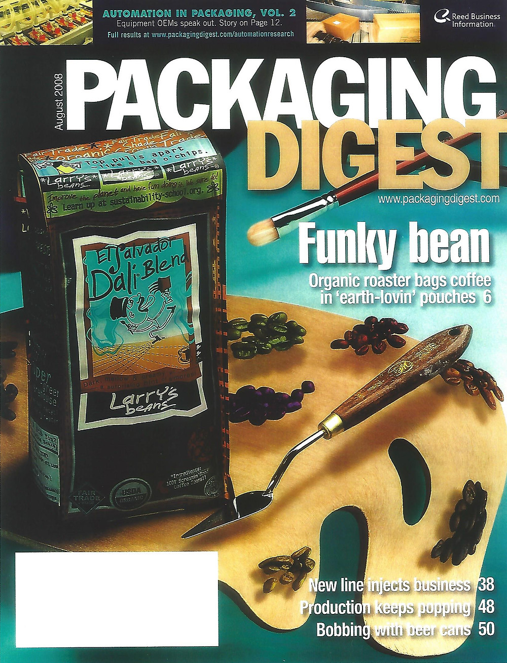 Packaging Digest - Biodegradable Coffee Pouches Article