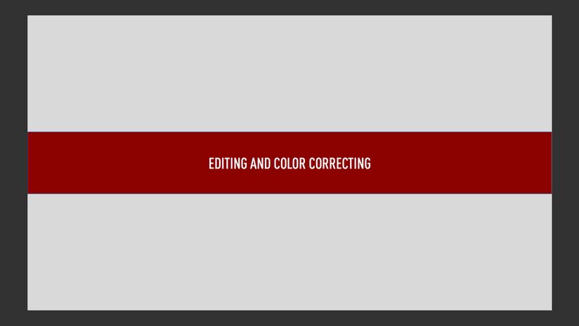 Color Test Title