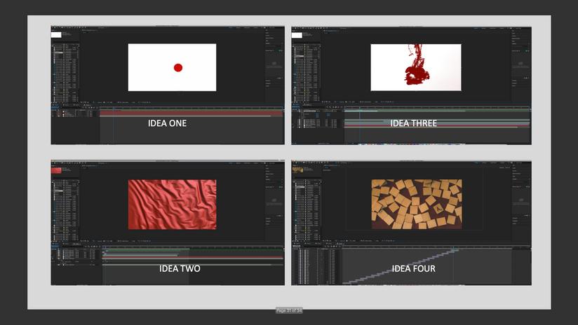 Idea Process & Experimentation