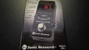Sonic Research ST-300 Mini Stompbox Strobe Tuner
