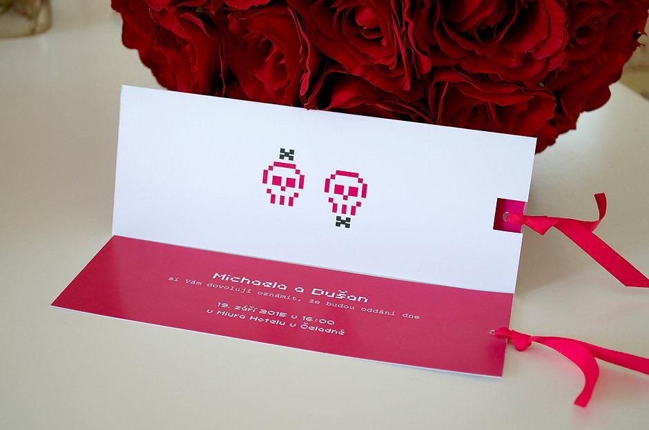 Svatební oznámení na zakázku