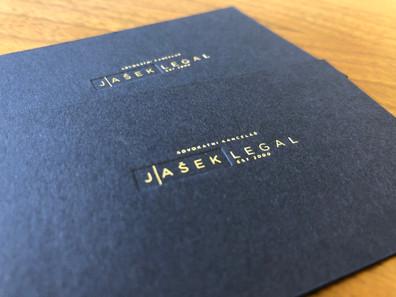 Jasek Legal Business Cards
