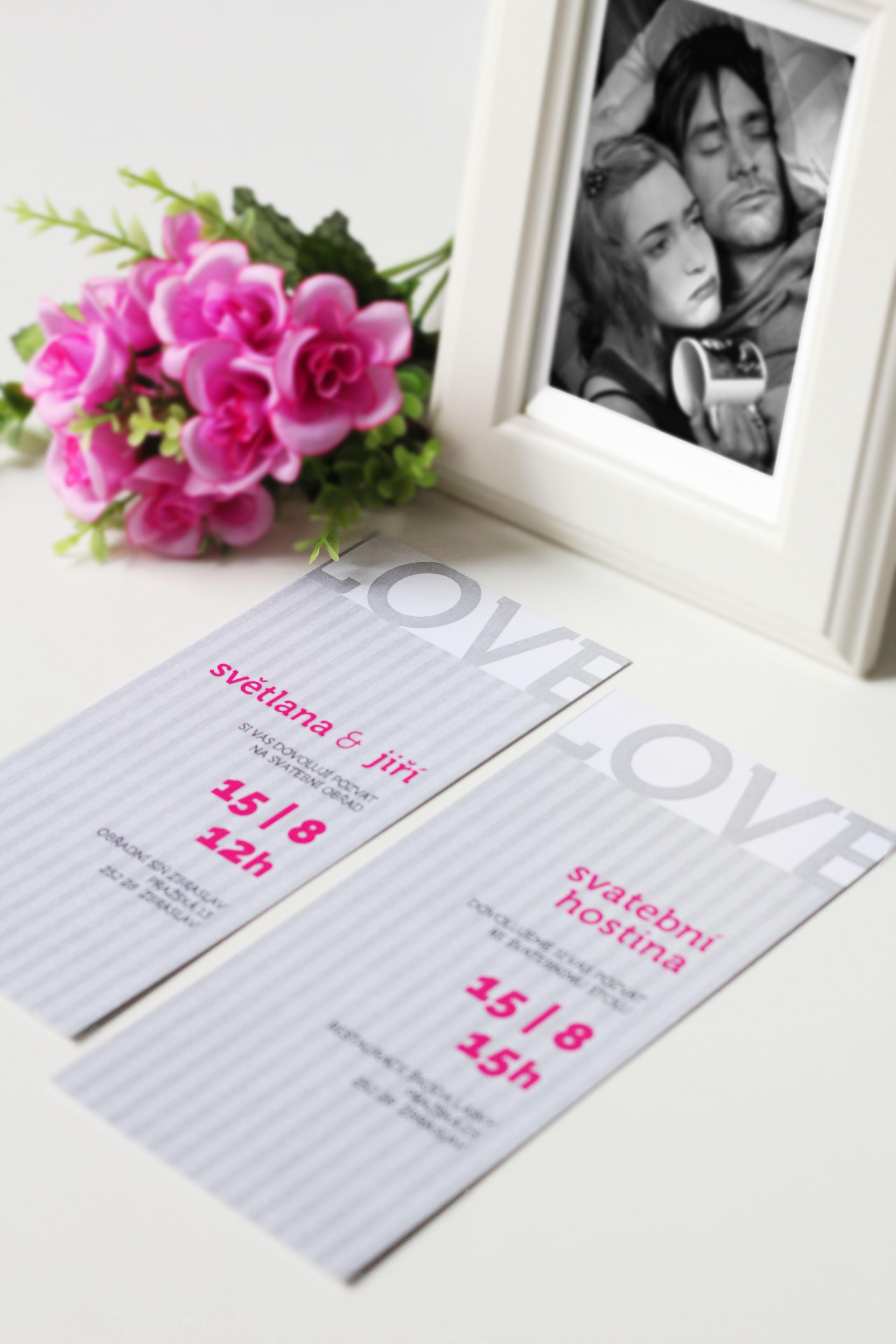 Svatební oznámení plakát