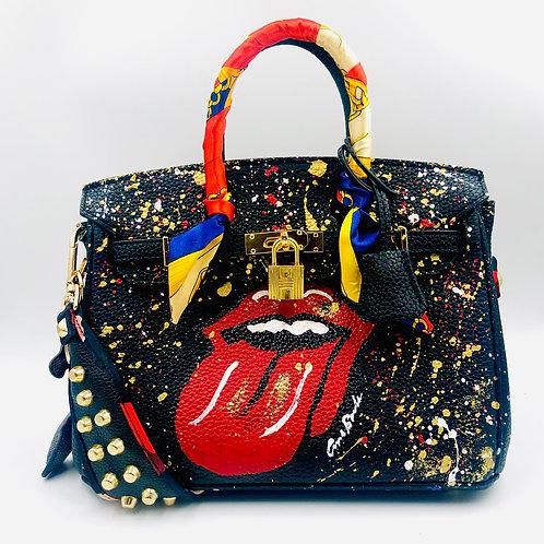 Stones 25' Genuine Leather Bag