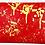 Thumbnail: Sabrina red gold drip heart