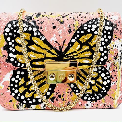 Carolina pink butterfly