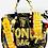 Thumbnail: Bianca30' black money bag