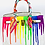 Thumbnail: Bianca 30' white rainbow drip