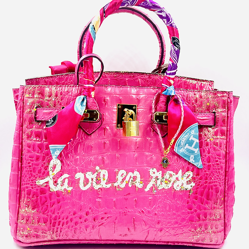 Bianca CROC 30' pink la vie en rose