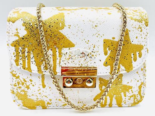 Carolina white gold drip stars