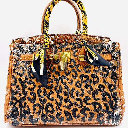 Bianca 30' brown cheetah