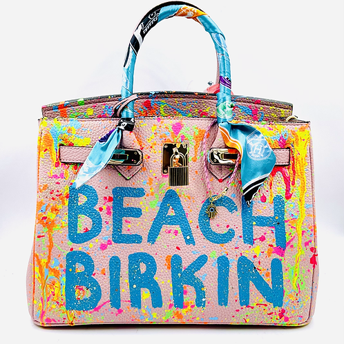 Bianca 30' pink beach Birkin