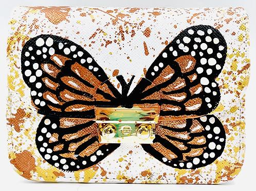 Carolina white butterfly