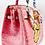 Thumbnail: Bianca CROC light pink 30' gold tongue