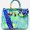 Thumbnail: Bianca 30' blue green splash