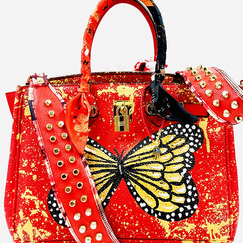 Bianca 30' red butterfly