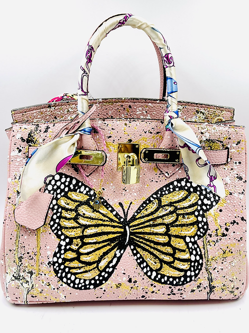 Bianca 30' pink butterfly