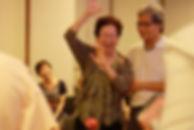 Lynda & husband at Parkinson Society Sin