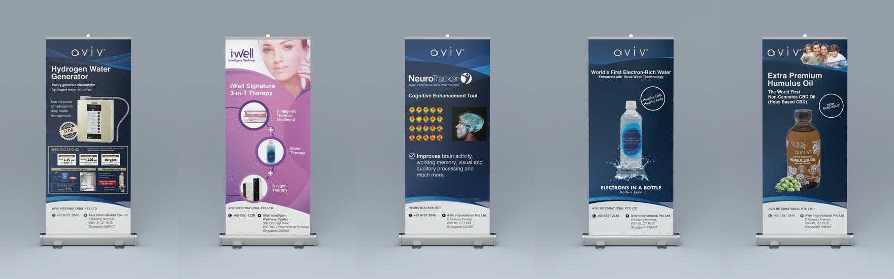 Event Booth Design, Banner Design