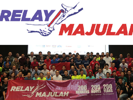 Relay Majulah – 200 runners participate in a 2,000KM relay within 200 hours challenge