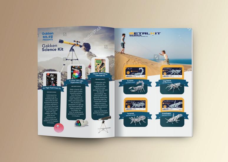 Brochure, Advertisment