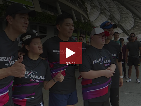 Relay Majulah: 200 runners to complete 2,000km relay for charity