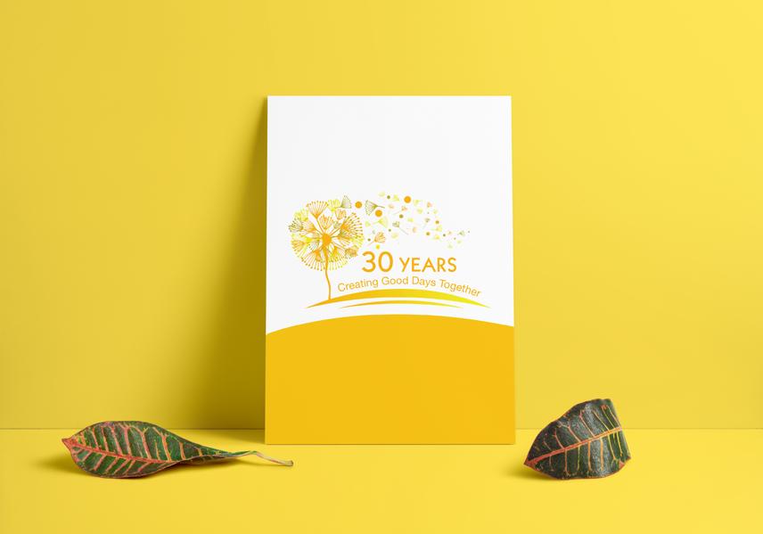30 Anniversary Logo, Flyer, Poster