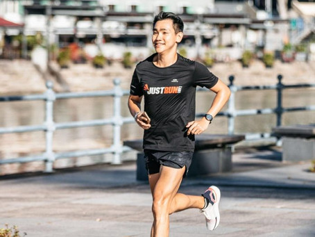 Running To Spread Positivity And Open-Mindedness (by Zhiyong)