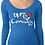 Thumbnail: Unity Ladies Triblend Long Sleeve Scoop (Fitted)