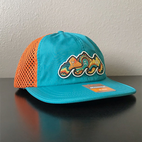 Yakima Canyon Topo Outdoor Hat Teal
