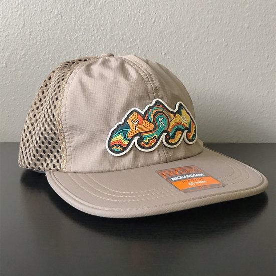 Yakima Canyon Topo Outdoor Hat Tan