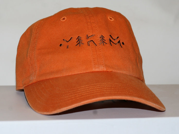 Orange Dad Hat