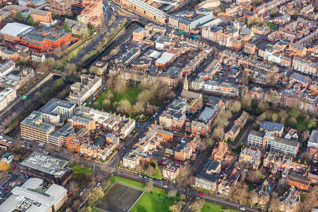 Leicester from above...