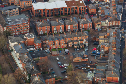 Leicester from above