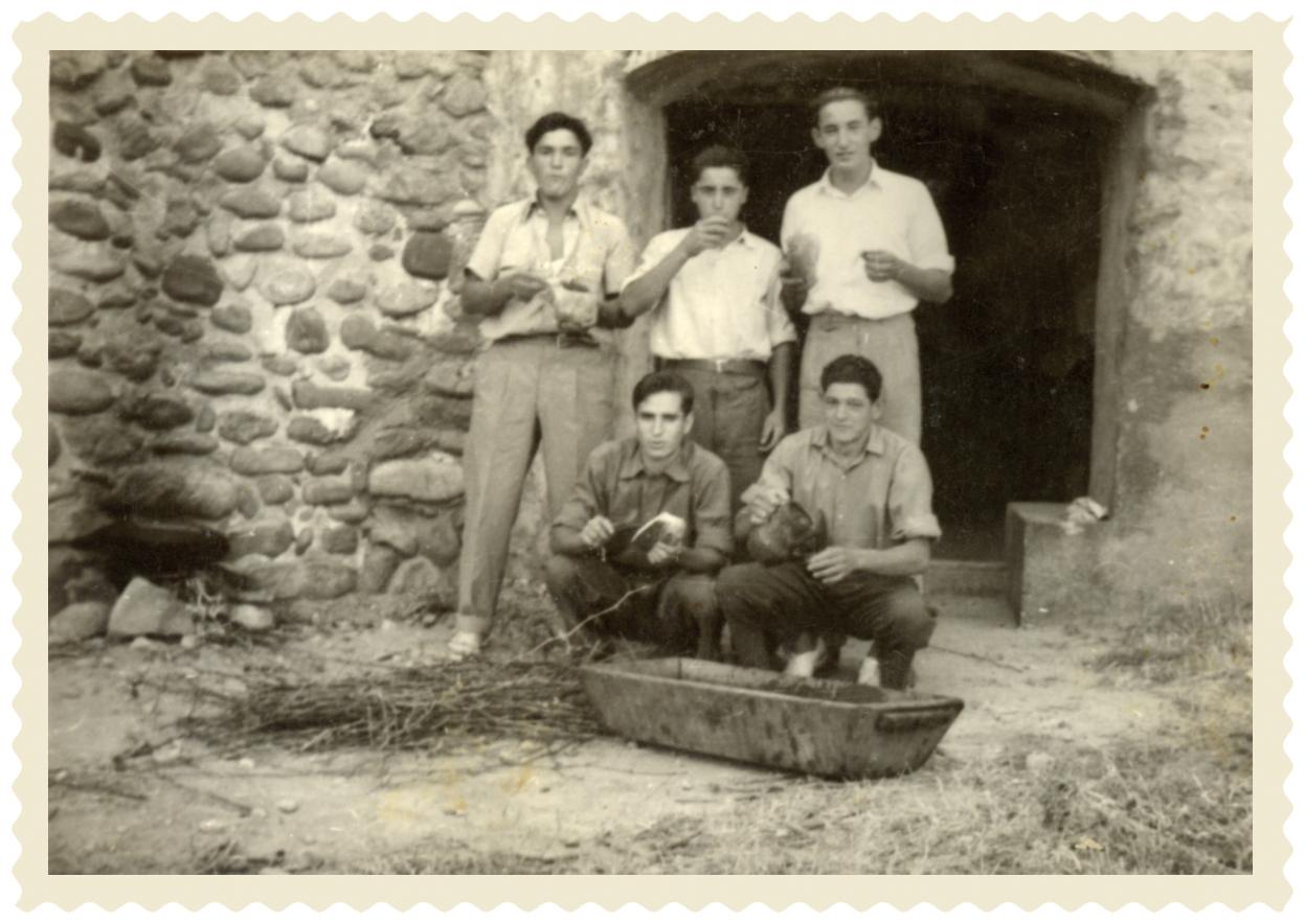 1956 justo el galilea y sus amigos
