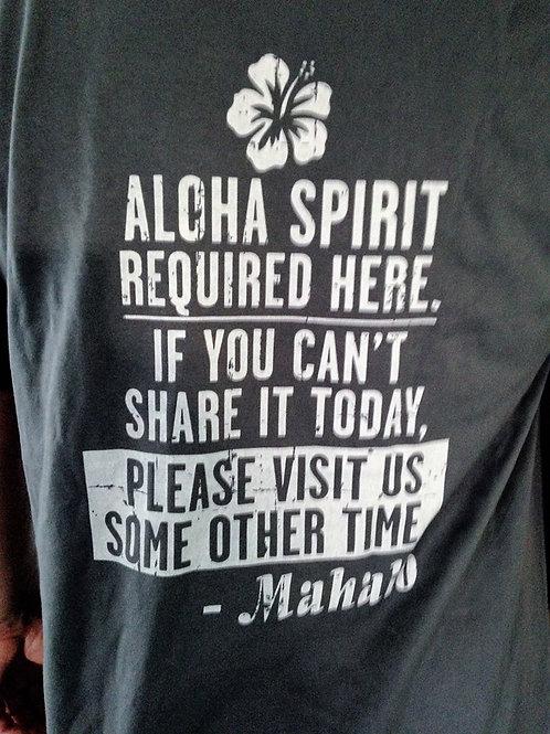 Aloha Required here