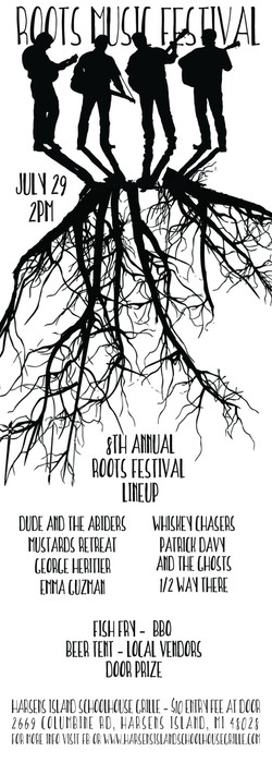 harsens island grille festival 2017 poster