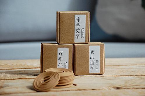 Ekologiczne chińskie okrągłe kadzidełka - małe