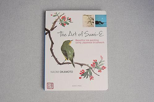 "Książka do sumi-e ""The Art of Sumi-e"" Naomi Okamoto"
