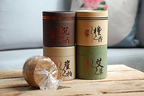 Tradycyjne okrągłe kadzidła chińskie - duże