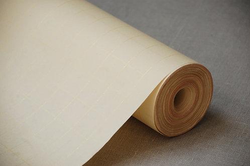 Papier ryżowy w tubie w złotą kratę 35cm x 50 metrów KOLOR KLASYCZNY