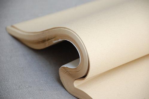 Papier ryżowy surowy 34 cm x 69 cm KOLOR KLASYCZNY
