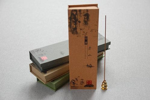 Kadzidła chińskie podłużne w pudełku 4 ZAPACHY