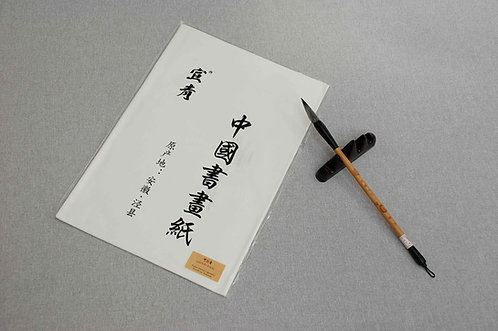 Papier ryżowy z apreturą 34 x 69 cm