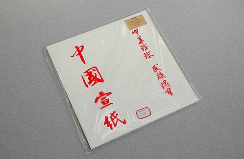 Papier ryżowy kwadratowy 34 x 34 cm SEMI-APRETUROWANY