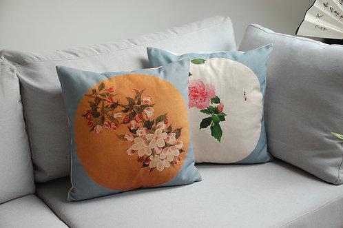 Ozdobna poszewka na poduszkę Chińskie Kwiaty