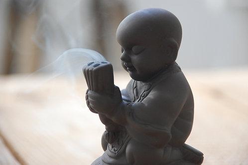 Kadzielnica modlący się mnich